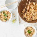 Spicy turkey noodles