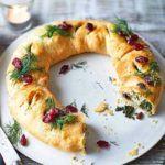 Vegan Christmas wreath recipe