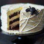 Spider's web cake