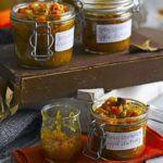 Spicy squash & apple chutney