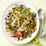 Barbecued squid salad