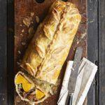 Squash & blue cheese Wellington