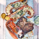 Barbecued surf & turf