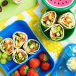Super-salad wraps
