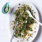 Speedy lamb & spinach curry