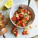 Tangy tomato relish