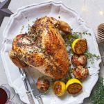 Thyme & garlic turkey crown