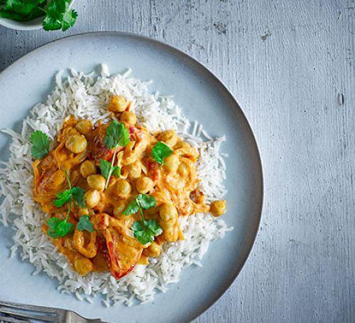 Tomato & chickpea curry Recipe