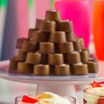 Cheat's salted caramels