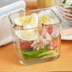 Tuna Nicoise protein pot