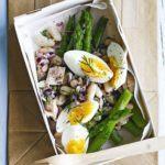Lemony tuna & asparagus salad box