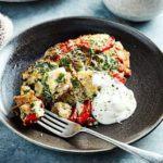 Slow cooker Turkish breakfast eggs