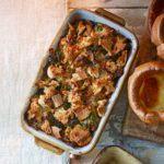 Tuscan sausage, kale & ciabatta stuffing