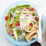 Veggie noodle pot