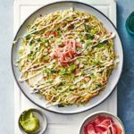 Veggie okonomiyaki
