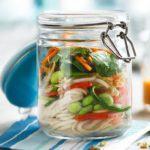 Veggie wholewheat pot noodle