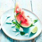 Melon with mint & feta