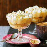 White chocolate trifle
