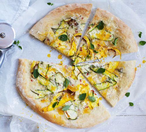 Vegan white pizza Recipe